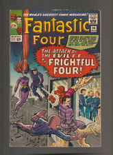 Fantastic Four # 36  Attack of the Frightful Four !  grade 5.5 scarce book !
