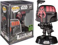 Funko Pop! - Star Wars Boba Fett  #297 Futura ECCC 2020 + Hard stack