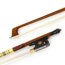 Sandalwood Baroque Model 4/4 Violin Bow Horn Frog Horsehair About 30 inch