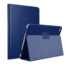 Apple iPad 2   3   4 Generation 9.7 Case Tablet Hülle Tasche blau Kunstleder Sch