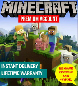 Minecraft Premium ✅Java Edition ✅ For PC and Mac - Lifetime- NFA