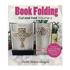 Debbi Moore Book Folding Cut & Fold Volume 6 CD Owl Love Mr & Mrs Baby (327294)