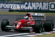 Jj lehto scuderia italia dallara BMS-192 mexicain grand prix 1992 photo
