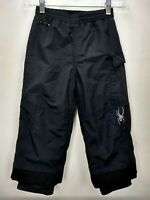 Spyder Xt Black Snow Ski Pants Boys Girls Kids Size 4 Small To Tall Waterproof