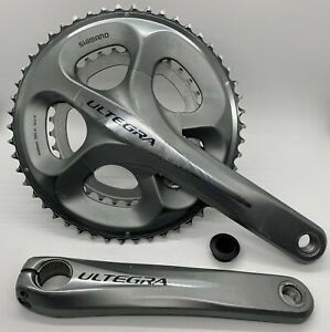 Shimano ULTEGRA 6700 2x10-Speed Road Bike Crankset FC-6750 50/34 175mm FAIR USED