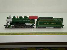 Locomotive US BACHMANN type 2-6-2 Prairie SOUTHERN avec fumigène ref 51504