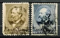 United State>1882,1888>Used,Perf.12>James A.Garfield,1831-1881.