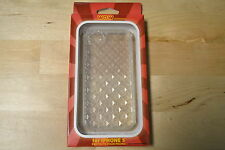 WoW Diamond Pattern Clear iPhone 5 5S SE Case Cover Very Good 4E