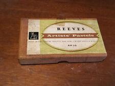 Vintage Box Of Reeves Artists  Pastels.