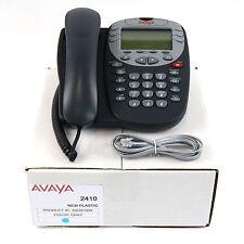 Avaya 2410 Digital Telephone Set - 1 Year Warranty - New PERFECT Casings- Lot