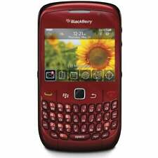 NEW BlackBerry Curve 8520 - Red (Unlocked) GSM 3G WiFi AT&T T-Mobile Smartphone