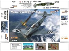 Dora Wings 1/48 Messershmitt Bf-109 A/B Legion Condor limited editio plastic kit