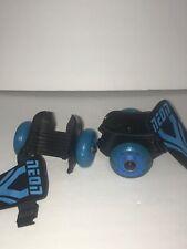 ~Neon Roller Skates - Blue - Light Up Adjustable Roller Skates for Shoes~