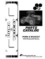 CASE IH PUMA WILDCAT 1000 POWERSHIIFT SERIES TRACTORS PARTS CATALOG