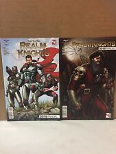 Zenescope GFT Realm Knights 2015 Annual Lot Covers A/B