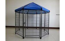 Box recinto per cane cuccioli Recinto per canii roditori H107 x 60 cm x 8 pz