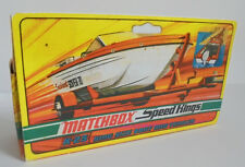Repro Box Matchbox Speed Kings K 25 Boat and Trailer