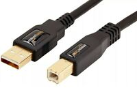 AmazonBasics USB 2.0 Cable - A-Male to B-Male - 16 Feet (4.8 Meters)