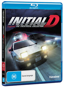 Initial D Legend - The Theatrical Collection (Blu-Ray)| Australian Release