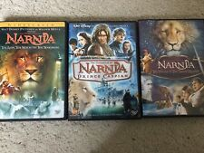 The Chronicles of Narnia, DVD Trilogy 3 Movies + Spanish Audio Like New + Bonus