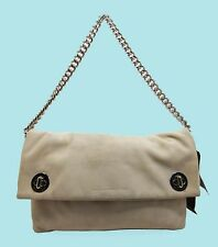 MARC JACOBS Clutch - Hold Tight Chain Tumbleweed Beige Shoulder Bag Msrp $328.00