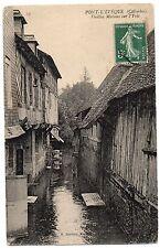CPA 14 - PONT L'EVEQUE (Calvados) - 15. Vieilles Maisons sur l'Yvie