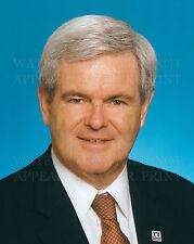 Newt Gingrich Republican GA Speaker of the House Congress politician photos lot