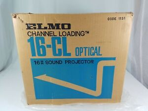 Elmo model 16-CL 16mm Optical sound film projector with Manual