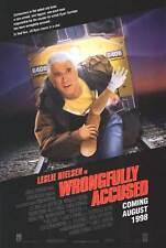 WRONGFULLY ACCUSED 27x40 D/S Original Movie Poster One Sheet Leslie Nielsen