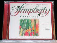 Simplicity Christmas Volume 5 Irish Christmas cd NEW! Instrumental music!