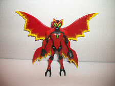 "Bandai Ben 10 Ten Alien Force Action Figure 4"" Red Big Chill"