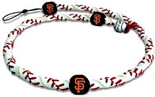 San Francisco Giants Leather Necklace Frozen Rope