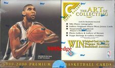 1999 99-00 TOPPS GALLERY NBA HOBBY SEALED BOX: ELTON BRAND/LAMAR ODOM ROOKIE RC