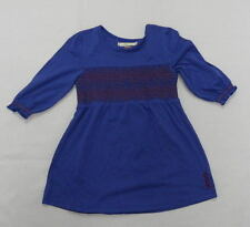Billabong Kids Girls Medium Smock Me Silly Felling Blue Dress