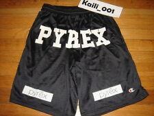 Pyrex Vision Shorts Small Black Religion Gym White Kanye RSVP Virgil Abloh B