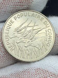 1971 Congo Peoples Republic 100 Francs