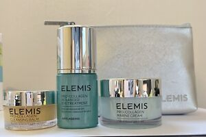 Elemis Pro-Collagen Marine Cream+Pro-Collagen Eye Treatment+Cleansing Balm
