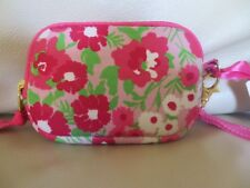 NWT Lilly Pulitzer Garden By the Sea Tech Case Pink Floral
