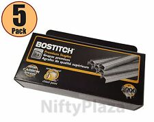 Pack Of 5 Boxes Bostitch B8 Powercrown Premium 14 Staples Mpn Stcrp211514