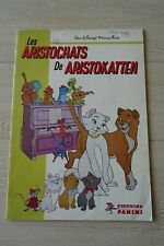 De Aristokatten PANINI sticker album Walt Disney klassiekers Nederlandse tekst