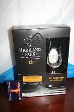 Caja de regalo Highland Park 12 con 1 Nosing-cristal 40% 0,70 lsingle pinta whisky