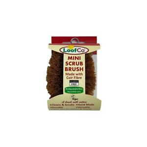💚 Loofco Natural Mini ScrubBrush
