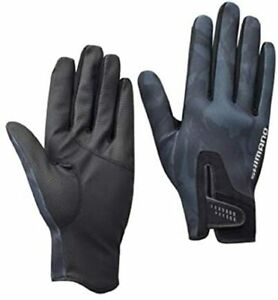 SHIMANO Fishing Gloves GL-095Q Pearl Fit Full cover M ~ XL Size M
