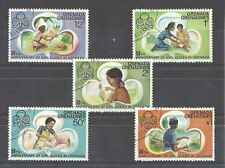 Timbres Scoutisme Grenade Grenadines 146/50 o lot 1503