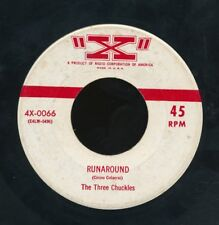 45tk-vocal group- X label 0066 - Three Chuckles