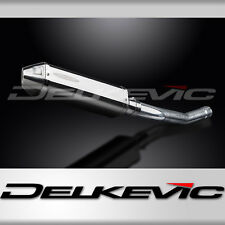 """Kawasaki Concours 14 13"""" Stainless Tri-Oval Muffler Exhaust 08-15 16 17 18"""