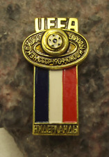 1984 UEFA European Football Championships Holland Dutch Team Soccer Pin Badge