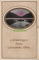 Postcard Greetings from Lancaster Ohio OH