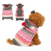 Pet Dog Puppy Warm Clothes Cat Shirt Winter Sweater Costume Jacket Coat hot new