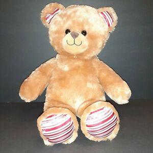 BABW Build A Bear Workshop Peppermint Paws Holiday Christmas Teddy Candy Cane